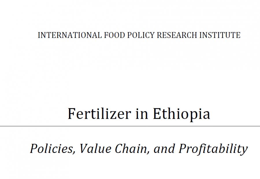 IFPRIFertilizerInEthiopia_Oct 2012